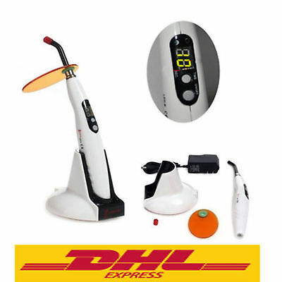 Dentista Wireless LED Cordless Curing Light 1400MW 5W Lampada fotopolimerizzante