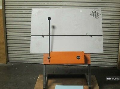 Bacher 2045 register plate punch for Heidelberg MO or GTO   ***PRICE REDUCED***