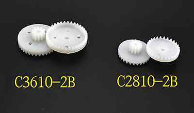 New 50pcs Double crown gear  Plastic nylon gear