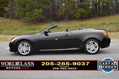 2009 Infiniti G37 2dr Loaded 2009 Infiniti G37 convertible w/navigation & heated/cooled seats! 10 11