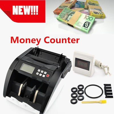 Money Counter Fast Counting 1000+ Notes Per Minute Identify Fake Bill Efficient