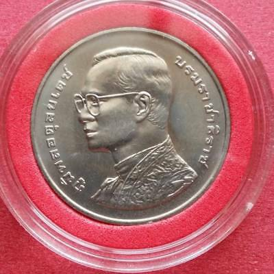 Thai coin - 72nd birthday of King Bhumibol of Thailand year 1999