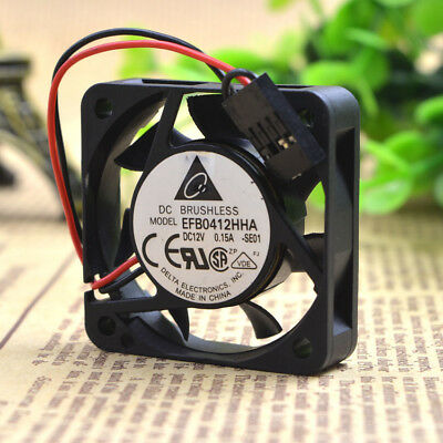 for Delta Electronics fan EFB0412HHA DC12V 0.15A 2Wire