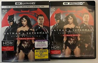 Batman V Superman Dawn Of Justice Ultimate Edition 4K Ultra Hd Blu Ray Slipcover
