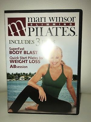 Mari Windsor Slimming Pilates DVD