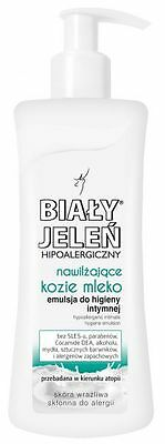 Bialy Jelen Hypoallergenic Daily Intimate Hygiene Emulsion with Goat Milk 265ml