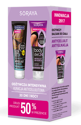 Soraya Set Body Diet 24 Anti-Cellulite Nutrition concentrate +Body Balm Firming