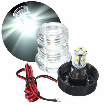 "LED BOAT ""BOW"" LIGHT RED CUSTER PRODUCTS"