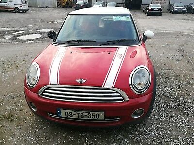 Mini Cooper 2008 BMW Engine 1.6 L 3dr Red Manual Drive EXCELLENT Runner