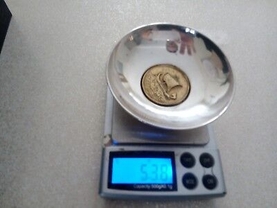 Solid Sterling Silver Pin/ coin Dish