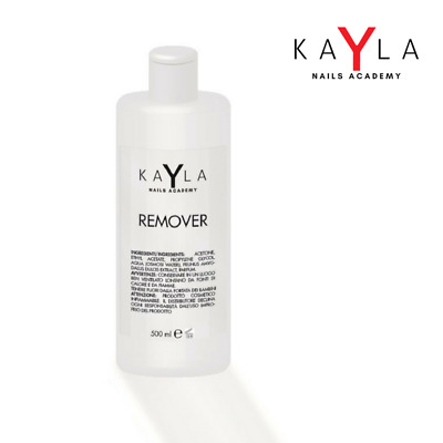 KAYLA REMOVER GEL SOAK-OFF SMALTO SEMIPERMANENTE PROFUMATO 125/500 ml