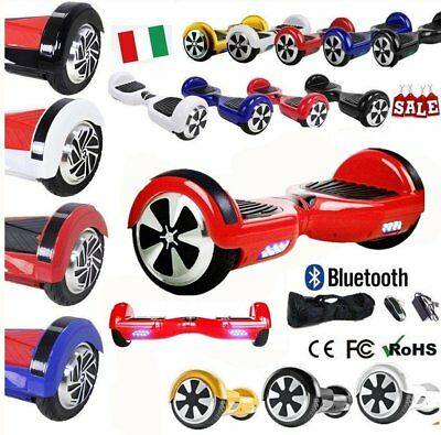 6.5-8.0 Inch Smart Overboard Self Balancing Scooter Electrique Skate Bluetooth#F