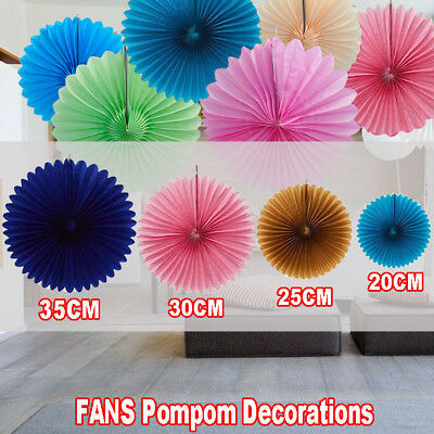 Fans Tissue Paper Pom Poms For Baby Living Party Wedding Decoration Home Pompoms