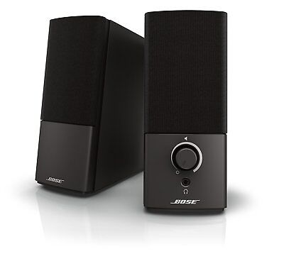 Bose Companion 2 Series III Multimedia Speakers - for PC with 3.5mm AUX & PC