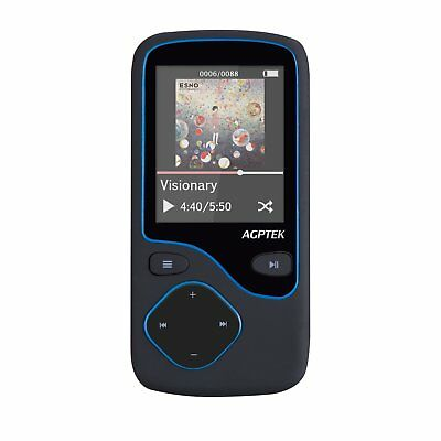 AGPtek C05 8GB portable Bluetooth MP3 Player With FM Radio, support up to 64GB,