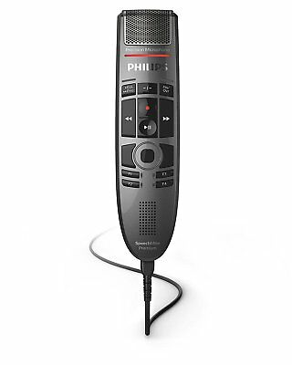 Philips SMP3700 SpeechMike Premium Touch Precision USB Microphone - Push Button