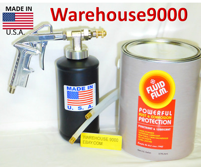 1 Gallon Of Fluid Film W/The Pro Gun, 1 Straight & 1 360* Hose w/ 1 empty Bottle