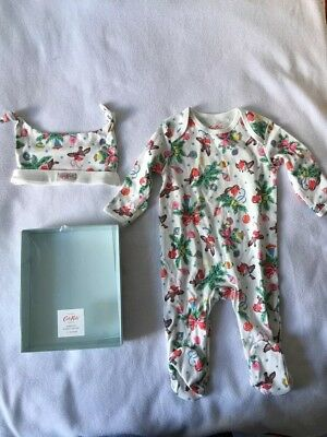 New Cath Kidston Baby Grow and Hat