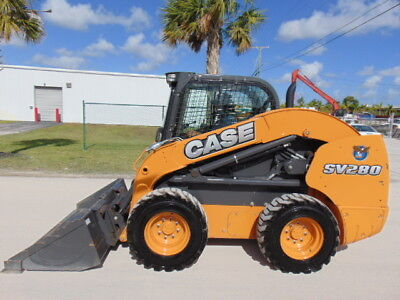 """Brand New 2017 Case Sv-280 Turbo 2 Speed """"air Conditioned""""  - Pilot Controls"""