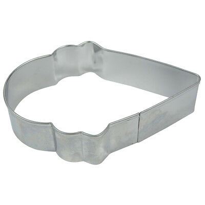 2 x stainless steel cookie Ice Cream Cutters B9N6