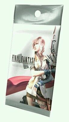 One FINAL FANTASY TRADING CARD GAME TCG Opus I Booster Pack Wave 1 Out of Print
