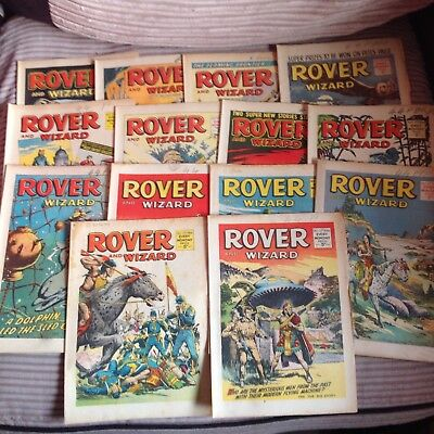 Rover and Wizard Comics