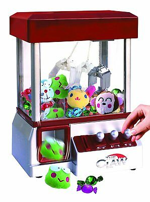 Electronic Claw Machine Candy Prize Grabber Home Arcade Crane Toy Carnival New