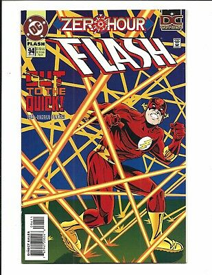 FLASH # 94 (ZERO HOUR, Cut to the Quick! SEPT 1994), NM