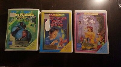Lot of 3 children's books on cassette tape! Authors: Reid Banks, Coville, Byars