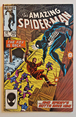Amazing Spider-Man #265 - 1st Silver Sable! - VF/NM (June 1985 )