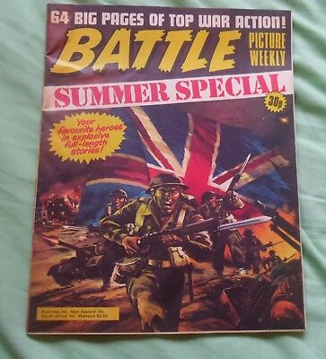 Battle Summer Special Holiday Comic
