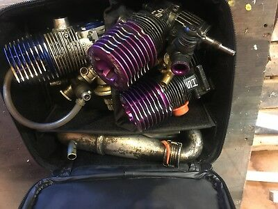 Picco And SH 21 Engines And Pipe