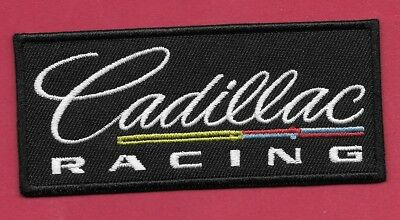 "New Cadillac Racing 1 1/2 X 4"" Inch  Iron on Patch Free Shipping"