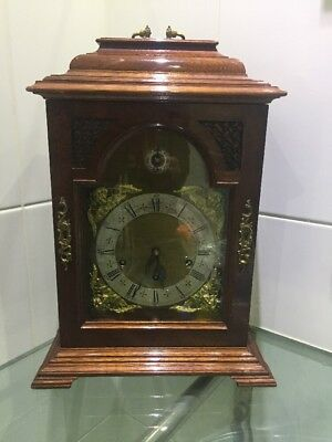 Antique Large Westminster Whittington Double Chime Bracket Clock Germany