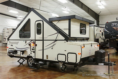 New 2018 T21FKHW A Frame Hard Side Lite Fold Down Pop Up Travel Trailer Not Used