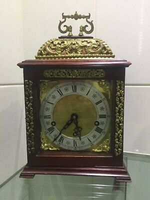 VINTAGE Westminster chime bracket clock by Rapport London.ODO MOVEMENT