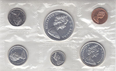 1966 Canadian Silver Proof/ Mint Set. Free Shipping