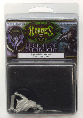 NEW Hordes Legion of Everblight Blighted Nyss Warlord Solo PIP 73103