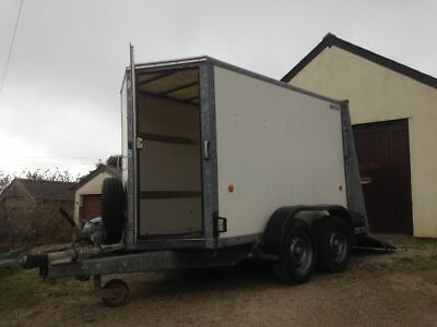 Ifor Williams BV84gta box trailer excellent condition hardly used