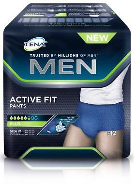 TENA Men Active Fit Pants Plus M 12St PZN: 12739934