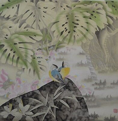 Fine Original Chinese Painting Signed Master Qin Xia #5652