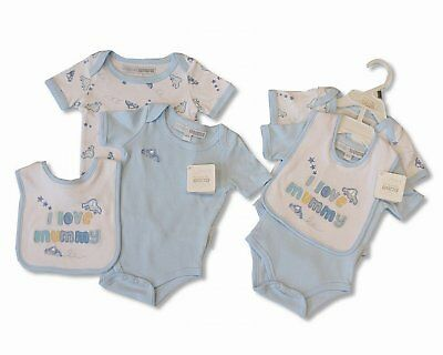 3 Piece Baby Boy Clothes Set Gift I Love Mummy - 0/3 Months