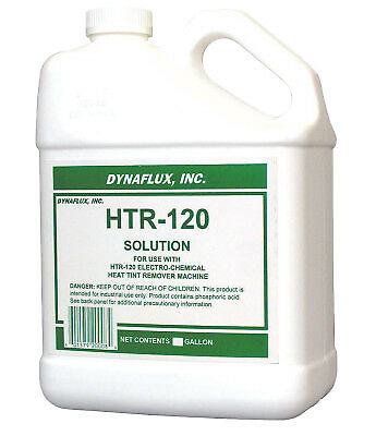 Ultra Brand Htr120 Solutions, 1 Gallon Container, Clear