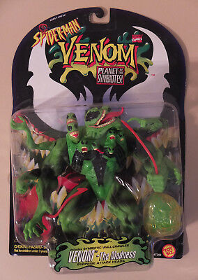 Marvel 1996 Spider-Man Planet of the Symbiotes VENOM THE MADNESS FIGURE GREEN