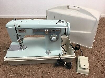 VINTAGE BROTHER CHARGER 40 Heavy Duty Sewing Machine With Case Impressive Brother Charger 651 Sewing Machine Manual