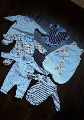 Entire JoJo Maman Bebe Bundle x7 items! 0-3 & 3-6 months. Great condition!
