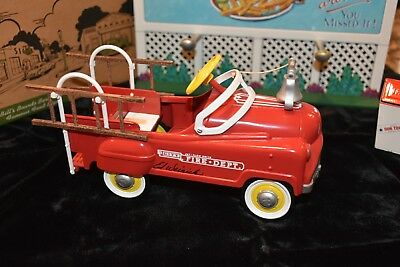 Hallmark Kiddie Car Classics 1962 Murray Red Fire Truck