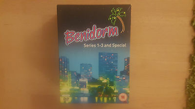 BENIDORM DVD SET  SERIES 1 TO 3 AND SPECIAL 6 DISC SET 632mins APPROX
