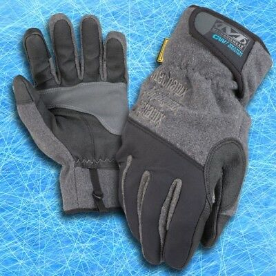 Mechanix Wear Handschuhe WR-CW Wind Resistant grau  Winter gefüttert Touch