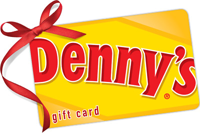 $25 Denny's Gift Card For Only $22.50!! - FREE Mail Delivery